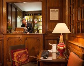Lounge Bar Hotel Amarante Beau Manoir Paris